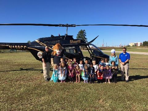 EMA and Sheriff's Office visit the Enterprise Early Education Center